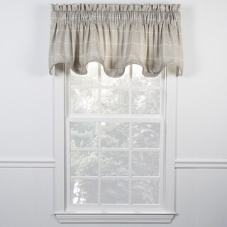 Morrison Natural Scallop Valance