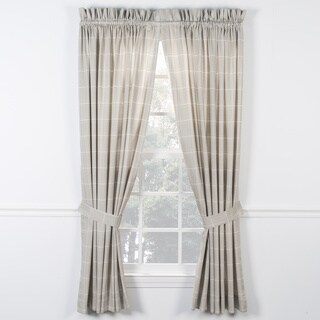 Ellis Curtain Morrison Natural Panel Pairs with Ties