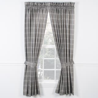 Ellis Curtain Morrison Black Panel Pairs with Ties https://ak1.ostkcdn.com/images/products/11367733/P18338099.jpg?impolicy=medium