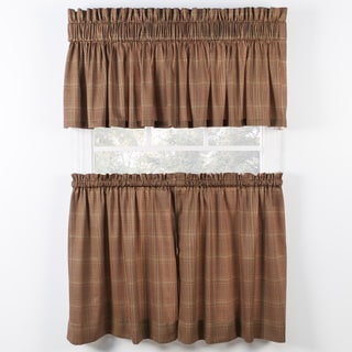 Morrison Rust Tiers and Tailored Valance sold seperately