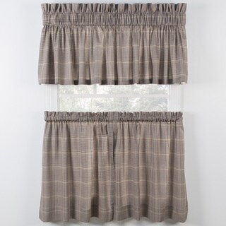 Ellis Curtain Morrison Patriot Tiers and Tailored Valance sold seperately