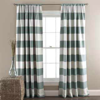 Stripe Curtains Amp Drapes For Less Overstock Com