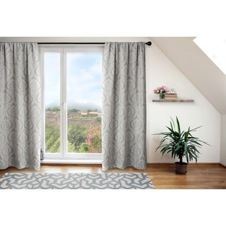 Isabella Linen Curtain Panel