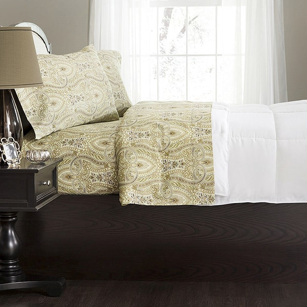 Ellen Tracy 330 Thread Count Egyptian Cotton Printed Sheet Sets