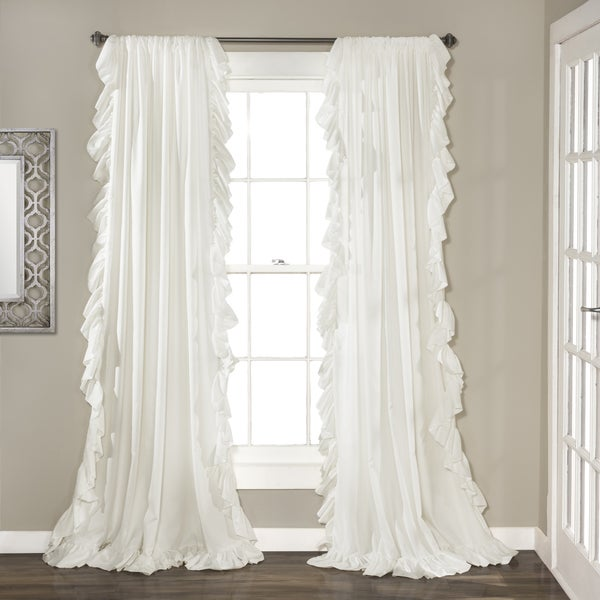 Lush Decor Reyna Curtain Panel Pair Free Shipping On