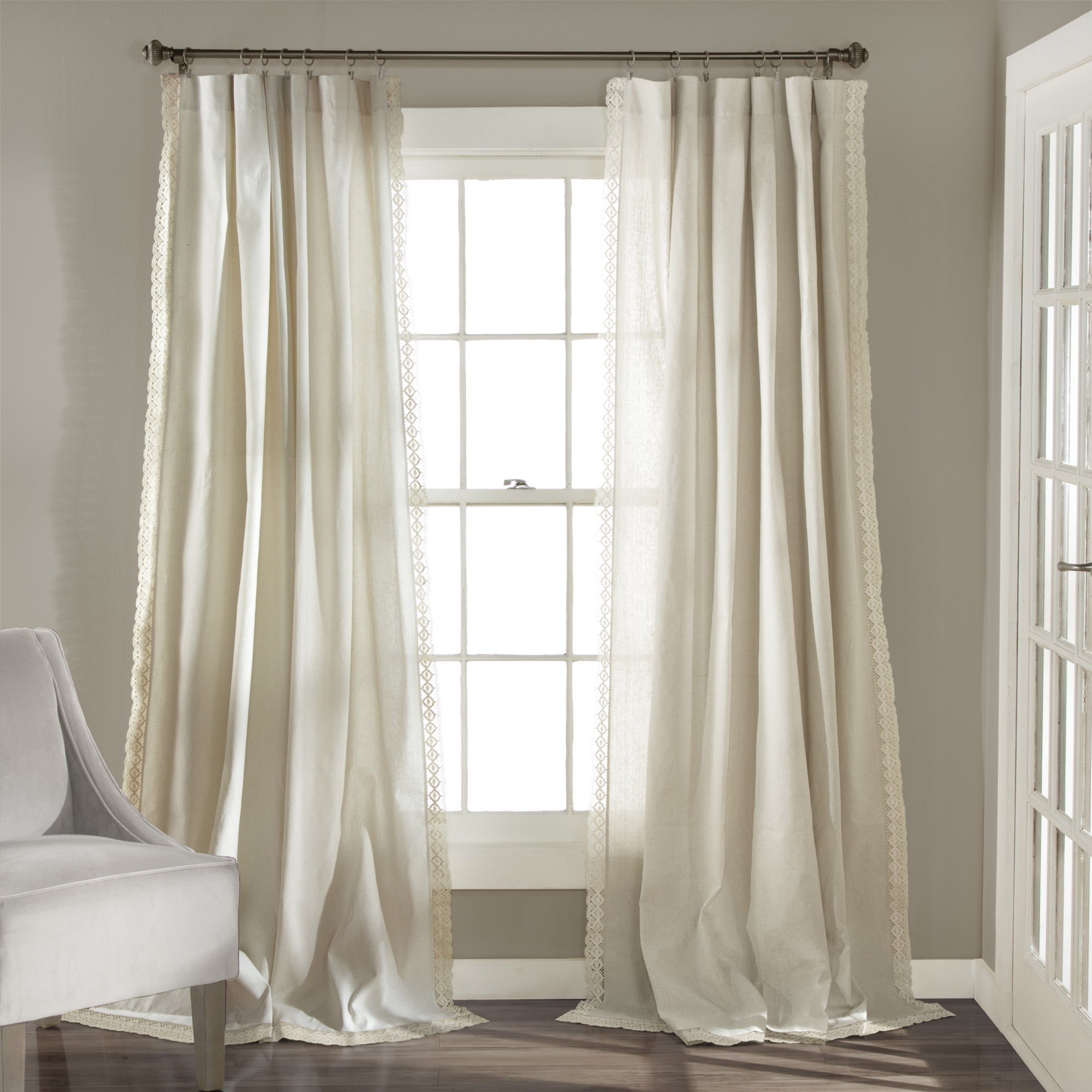 Lush Decor Rosalie Curtain Panel Pair