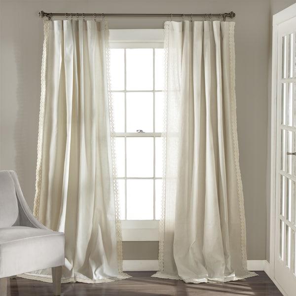 Lush Decor Rosalie Curtain Panel Pair