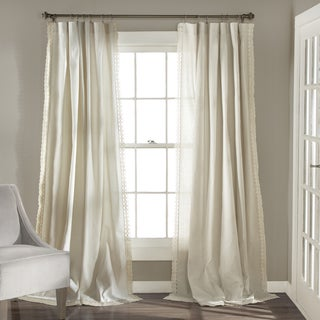 Lush Decor Rosalie Curtain Panel Pair - Thumbnail 0
