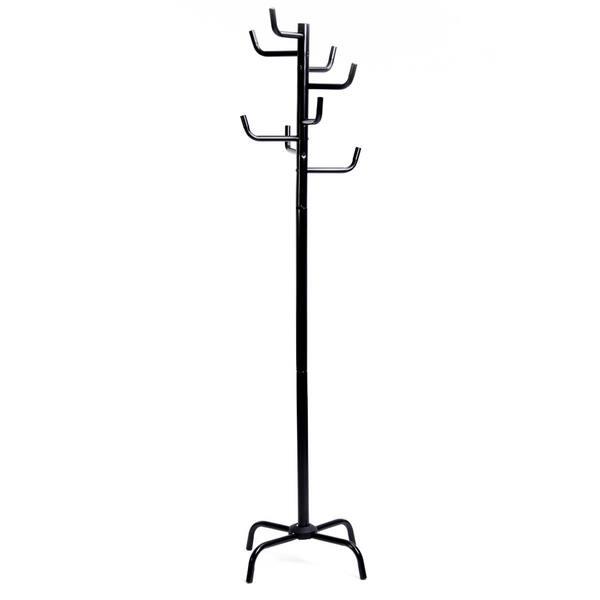 Coat rack for Port 8 Coat Hooks Metal Hang Clothes 37x13x21