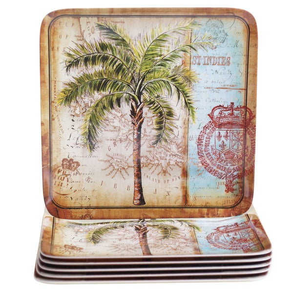 Shop Certified International Antique Palms 10 5 Inch