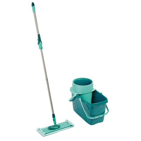 Household Essentials Leifheit Clean Twist XL Rectangle Mop and Sweeper Set