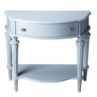 Butler Halifax Glossy Wedgewood Console Table