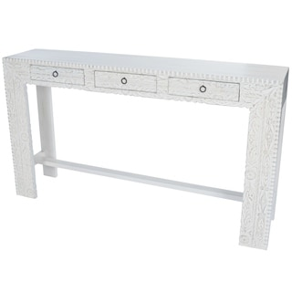 Exotic Mango Wood Console Table