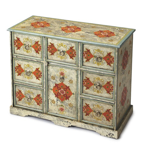 Handmade Butler Accent Chest (India)