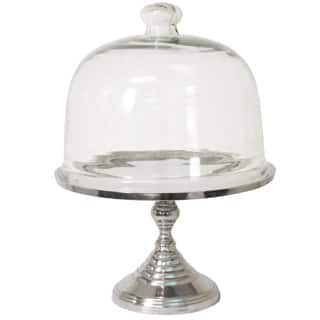 Party Essentials Dome Glass Cake Stand Multi Server|https://ak1.ostkcdn.com/images/products/11367925/P18338248.jpg?impolicy=medium