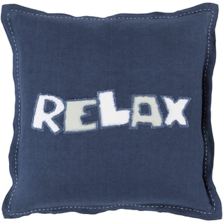 Decorative Ordie 20-inch Poly or Feather Down Filled Pillow