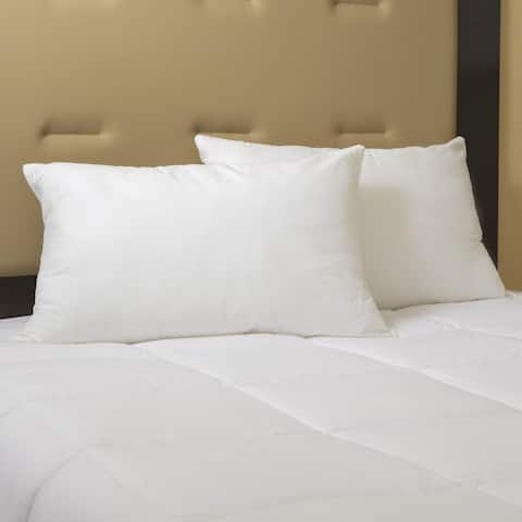 Kotter Home Hotel Classic Down and Feather Pillow (Set of 2) - White