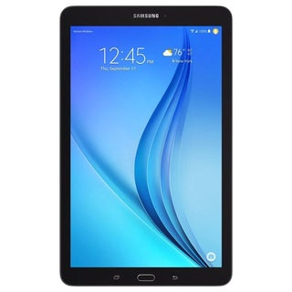 Samsung Galaxy Tab E 9.6-inch 8GB Black Tablet