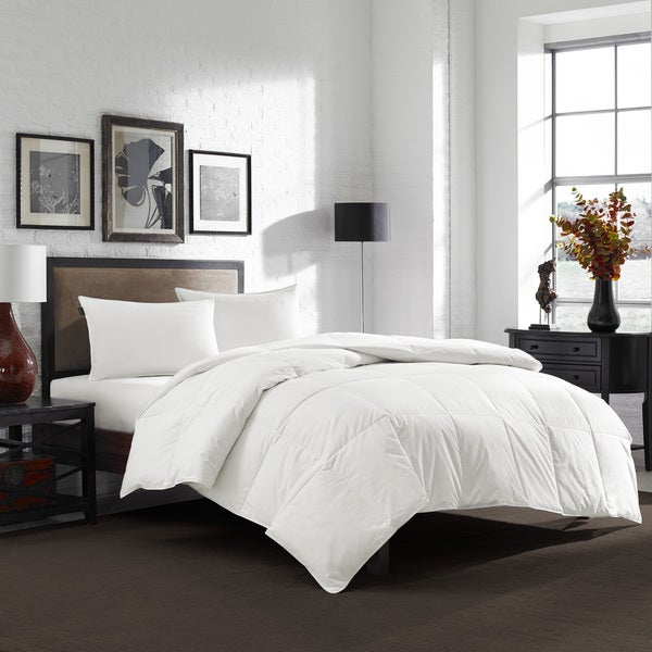 Shop Eddie Bauer 550 Fill Power White Down Comforter - Free Shipping Today  - Overstock - 11367960 1d5c886cd905e