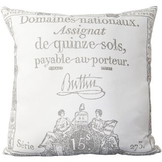 Decorative Lothian 22-inch Poly or Down Filled Pillow