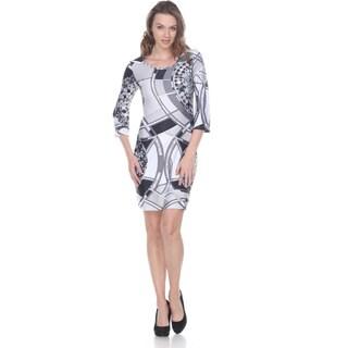 White Mark Women's 'Jalynn' Dress