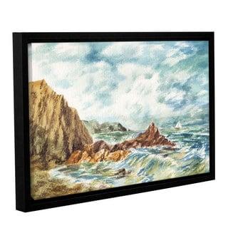 ArtWall 'Irina Sztukowski's Vintage Storm' Gallery Wrapped Floater-framed Canvas