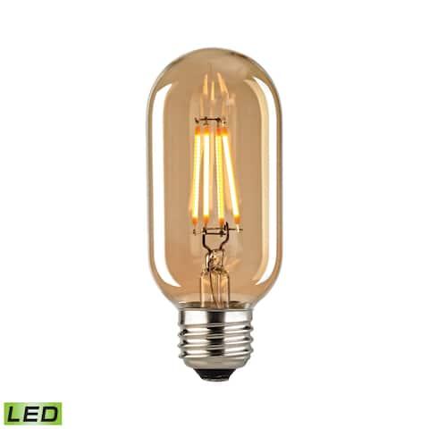 Elk Filament Medium LED Bulb With Light Gold Tint