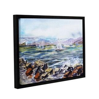 ArtWall 'Irina Sztukowski's Richmond Shore' Gallery Wrapped Floater-framed Canvas