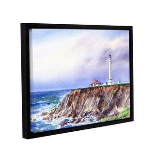 ArtWall 'Irina Sztukowski's Lighthouse Point Arena' Gallery Wrapped Floater-framed Canvas