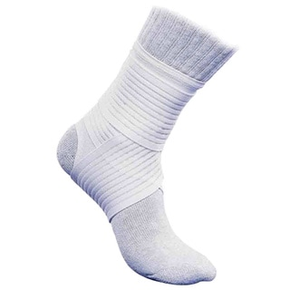McDavid Classic 433 Level 2 Ankle Support with Mesh-Straps (White)