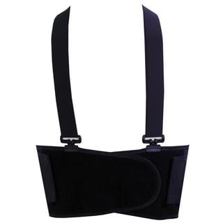 McDavid Classic 496 Level 2 Back Support with Suspenders (Black)