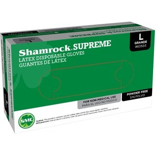 Shamrock Nitrile Disposable Gloves Powder Free Textured