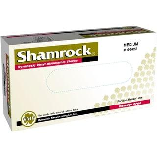 Shamrock Vinyl Disposable Gloves Powder-Free (Case of 1000)
