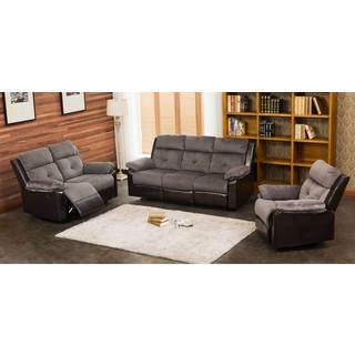 Stanford 3-pc Motion Recliner Living Room Set