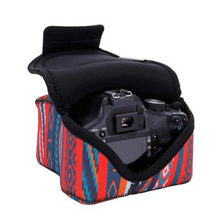 DSLR Camera Sleeve Case w/ DuraNeoprene Technology, Accessory Storage & Strap Openings - by USA GEAR