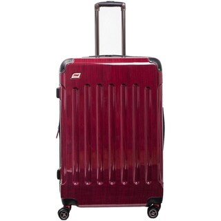 Andare Barcelona 24-inch Expandable Hardside Spinner Upright Suitcase