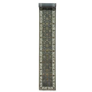 Rajasthan Wool and Silk Handmade XL Oriental Runner Rug (2'6 x 20')