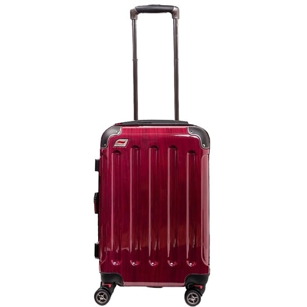 Andare Barcelona 20-inch Expandable Hardside Carry-On Spinner Suitcase