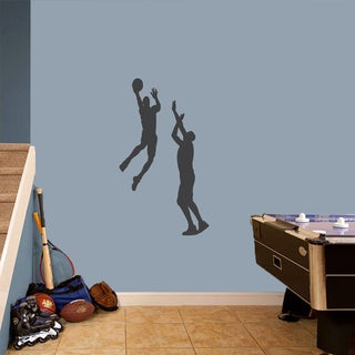 Basketball Guys Small Wall Decal Set