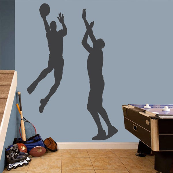 Basketball Guys Large Wall Decal Set