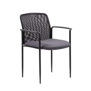 Boss Stackable Grey Mesh Guest Chair|https://ak1.ostkcdn.com/images/products/11370696/P18340569.jpg?impolicy=medium