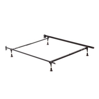 Twin/ Full Angle Iron Steel Bed Frame with Glides