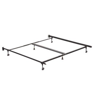 Queen/ King/ Cal King Angle Iron Steel Bed Frame with 2-inch Center Support