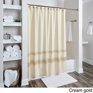 Chevron Collection Shower Curtain by Rizzy Home (3 options available)