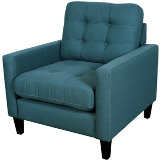 Porter Harlow Deep Teal Contemporary Modern Chair