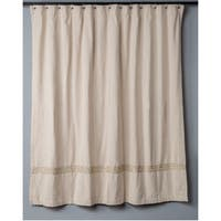 Entwined Collection Shower Curtain by Rizzy Home