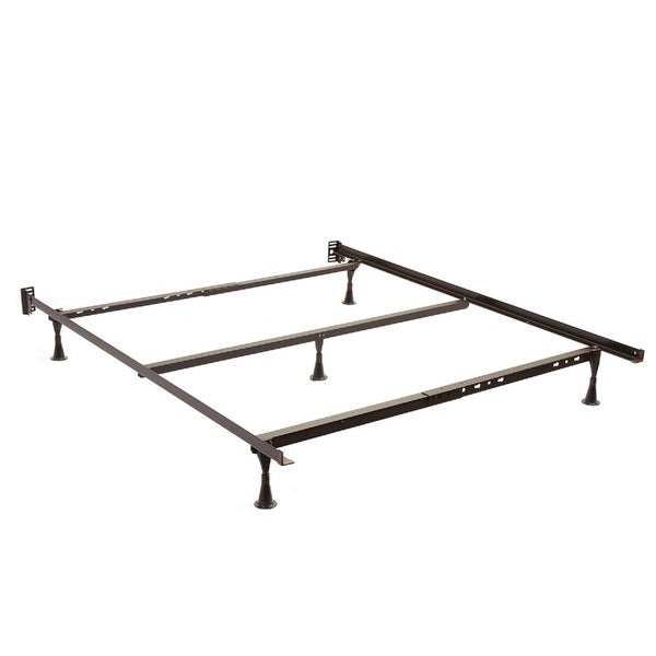 Shop Twin Full Queen Angle Iron Steel Bed Frame With