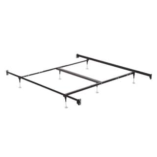 Queen/ King Bolt On Angle Iron Steel Bed Frame with Headboard and Footboard Brackets
