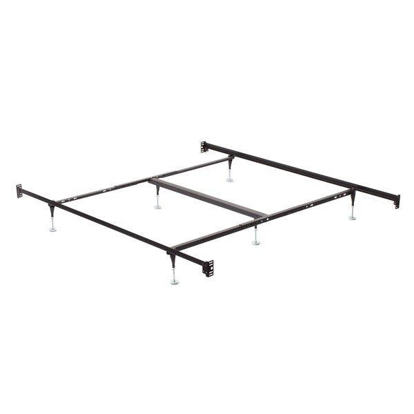 Shop Queen King Bolt On Angle Iron Steel Bed Frame With