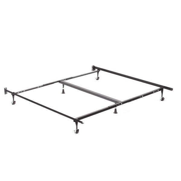 Shop Queen King Cal King Angle Iron Steel Bed Frame With